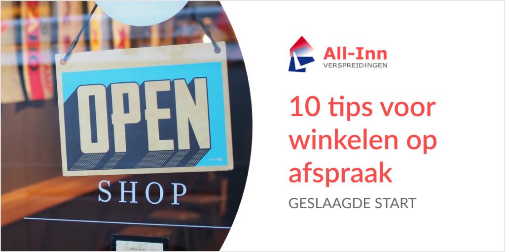 10 tips voor winkelen op afspraak